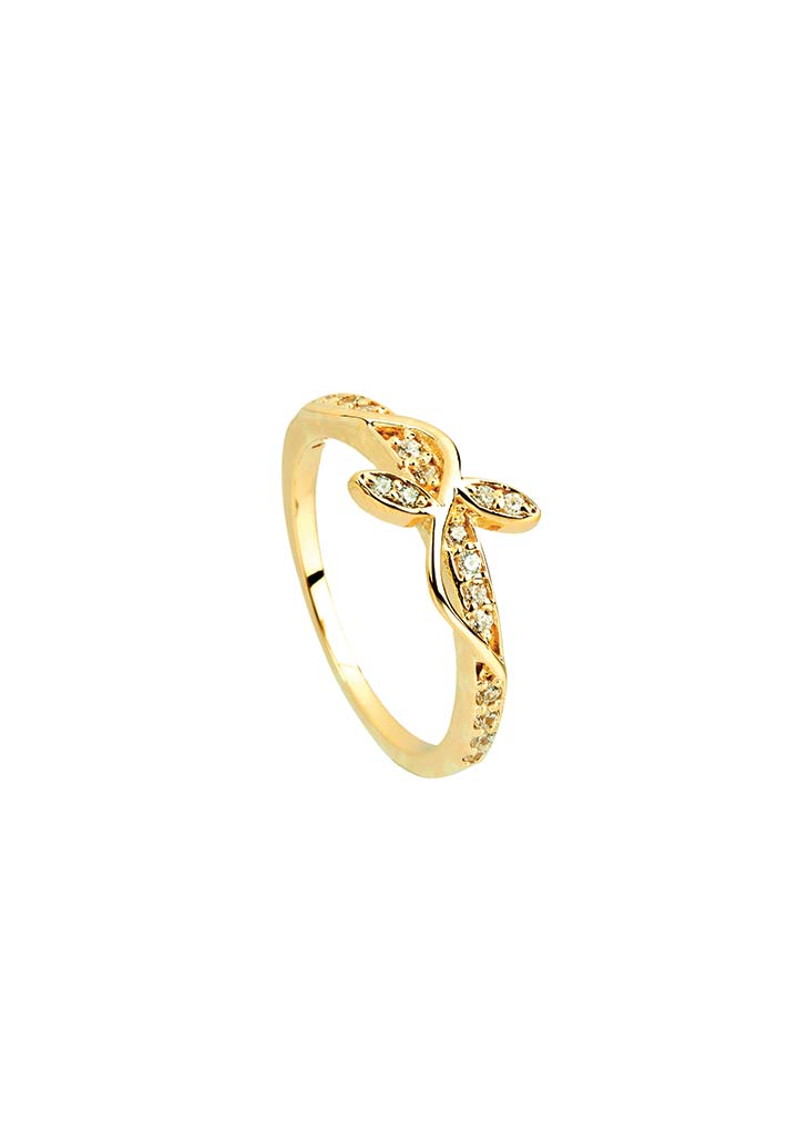 Gold Ring S14KR123