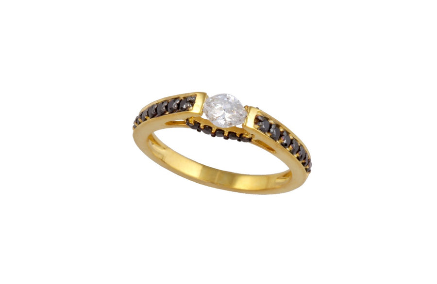 Gold Ring S14KR013