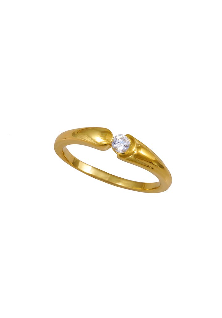 Gold Ring S14KR016
