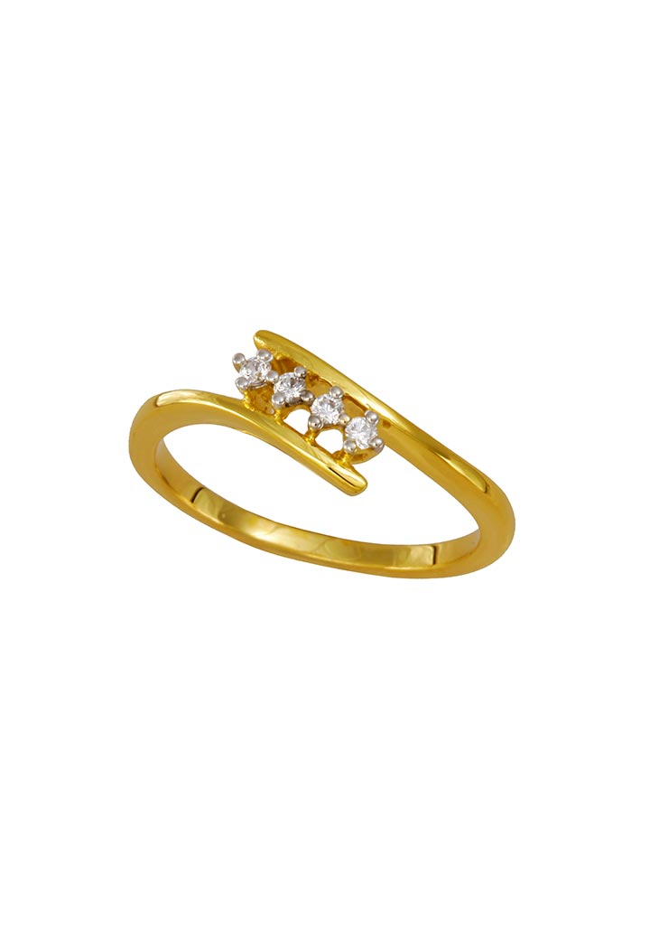 Gold Ring S14KR027