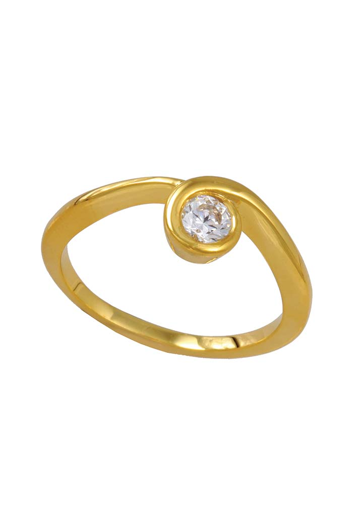 Gold Ring S14KR031