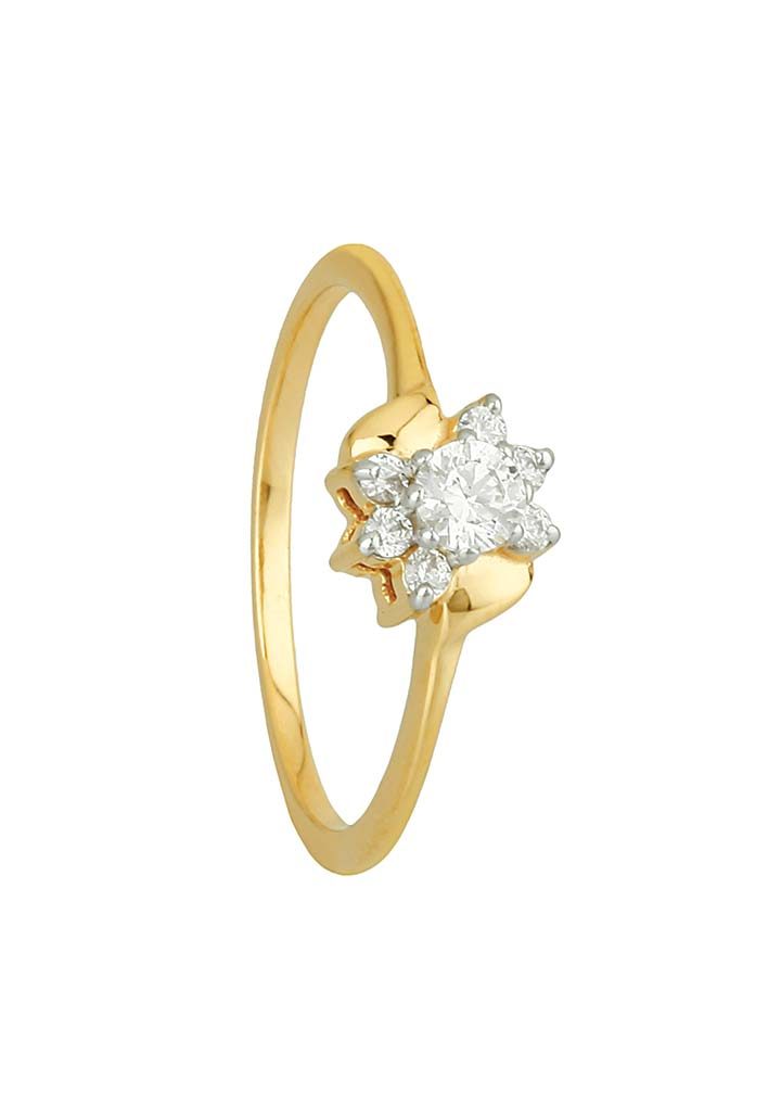 Gold Ring S14KR049