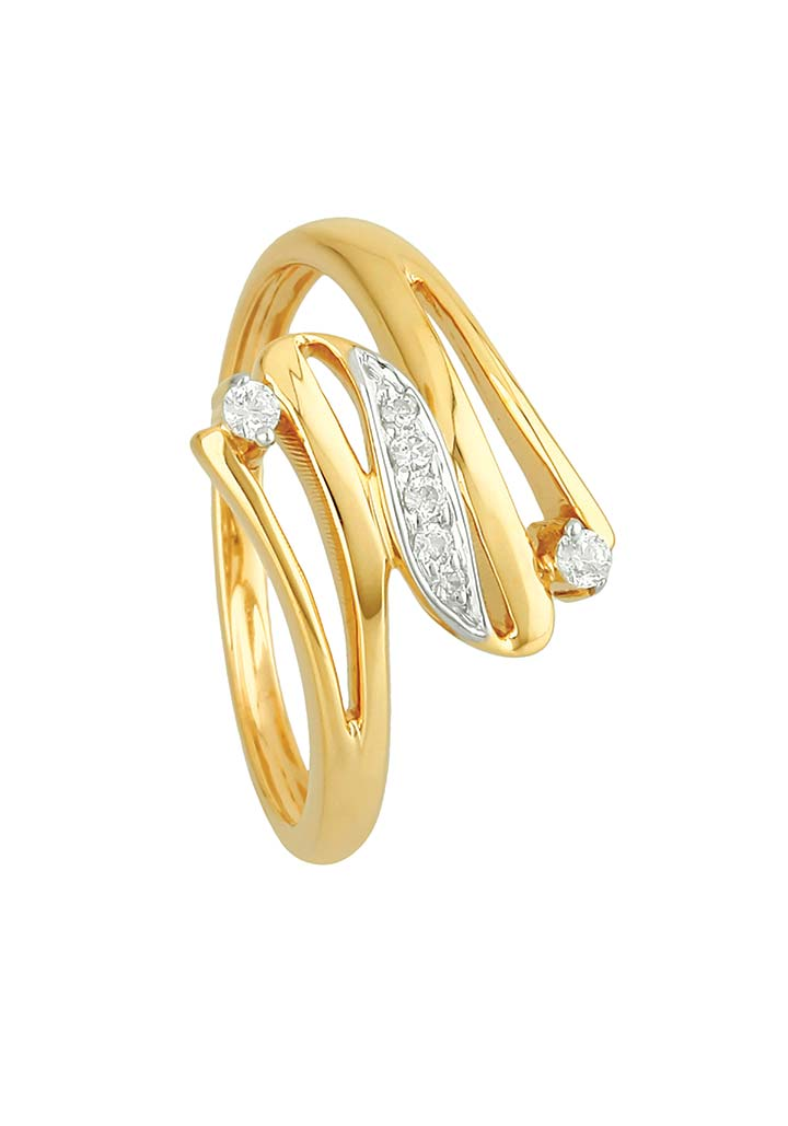 Gold Ring S14KR051