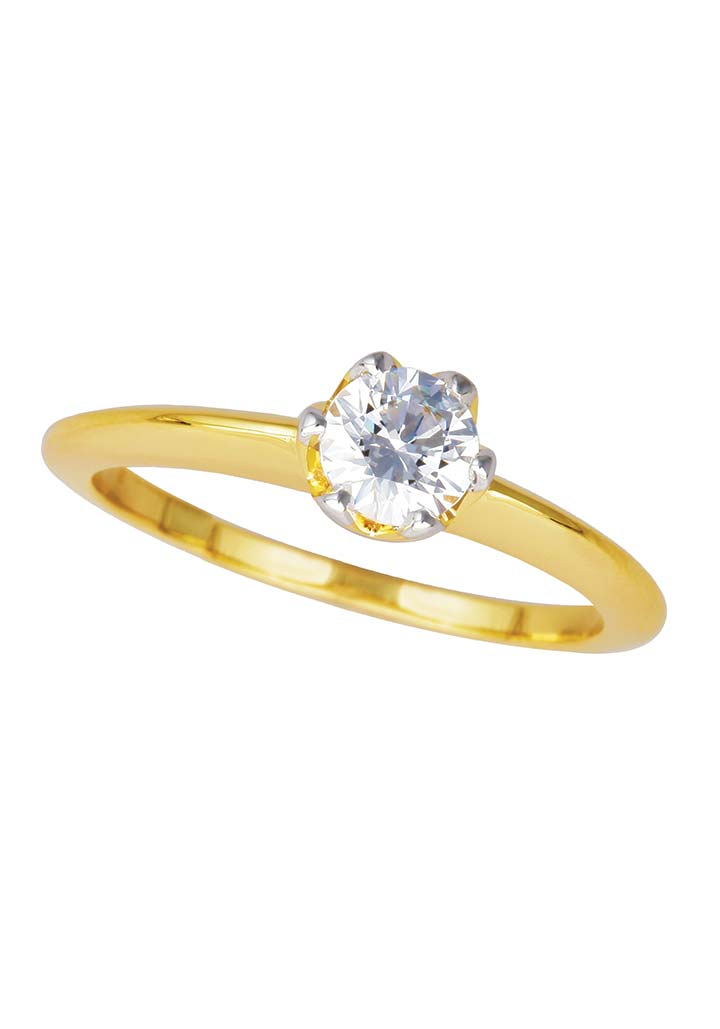 Gold Ring S14KR065