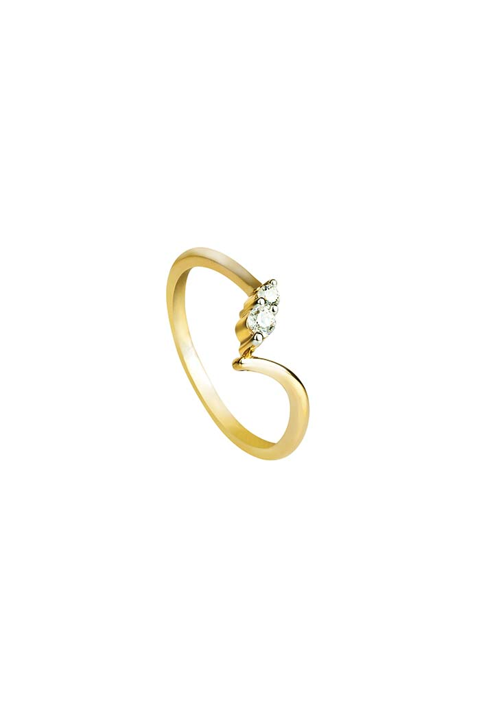 Gold Ring S14KR084