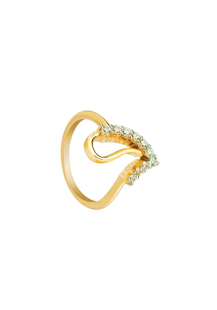 Gold Ring S14KR095