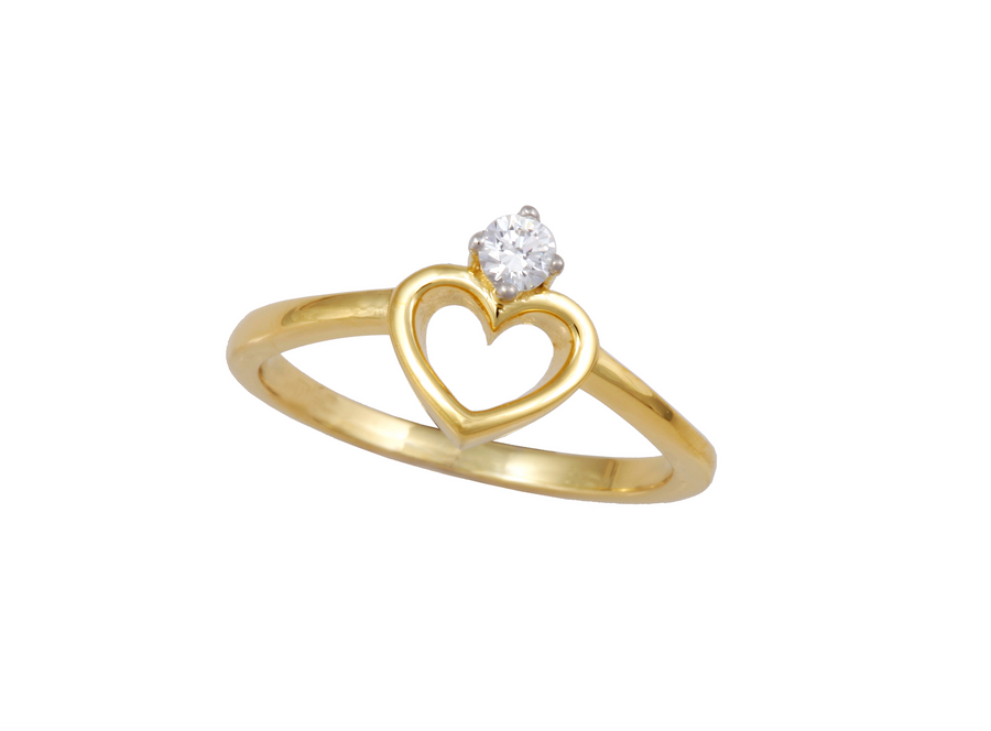 Gold Ring S14KR005