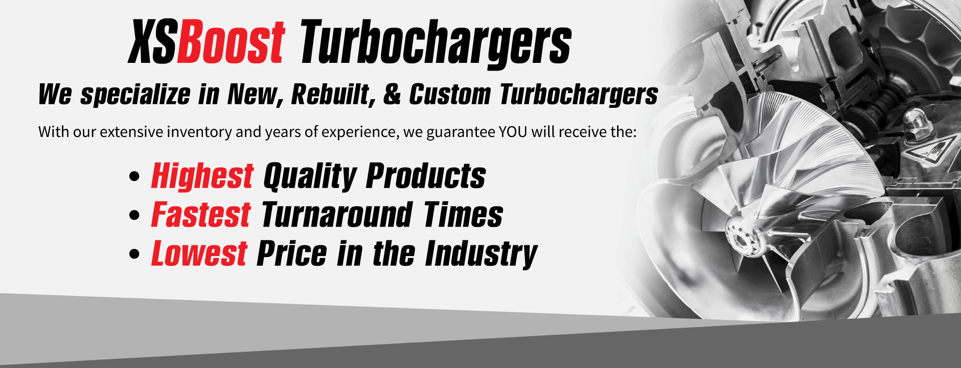 XS Boost Turbochargers