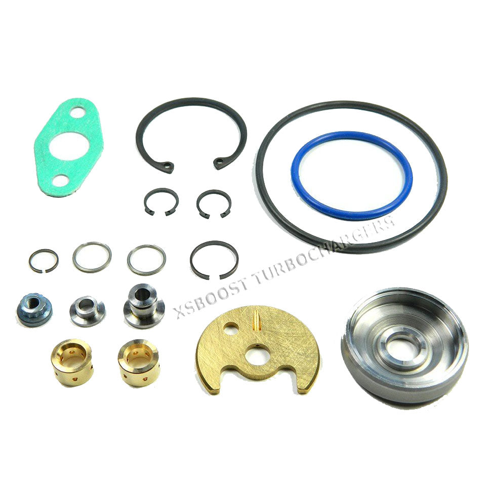 TD04 Rebuild Kit- Flatback 9B 12T 13C 14T 13G 15G Turbochargers [current_tags]- XS Boost Turbochargers - Best Turbochargers & Turbo Parts in the Industry - Turbo Rebuild Service & Replacement Turbos