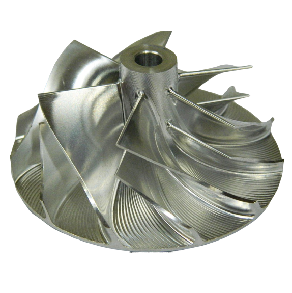 BILLET Turbocharger compressor Wheel GT1752 36.77 MM X 52 MM [current_tags]- XS Boost Turbochargers - Best Turbochargers & Turbo Parts in the Industry - Turbo Rebuild Service & Replacement Turbos