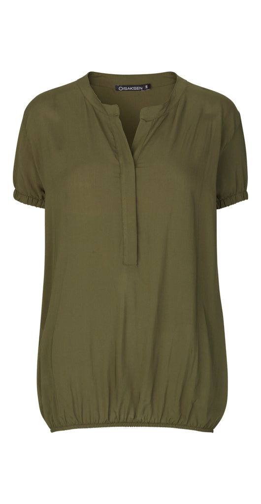Agnita Top Green - Isaksen design