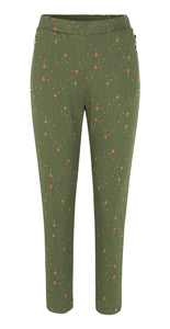 Ann Pants Green - Isaksen design