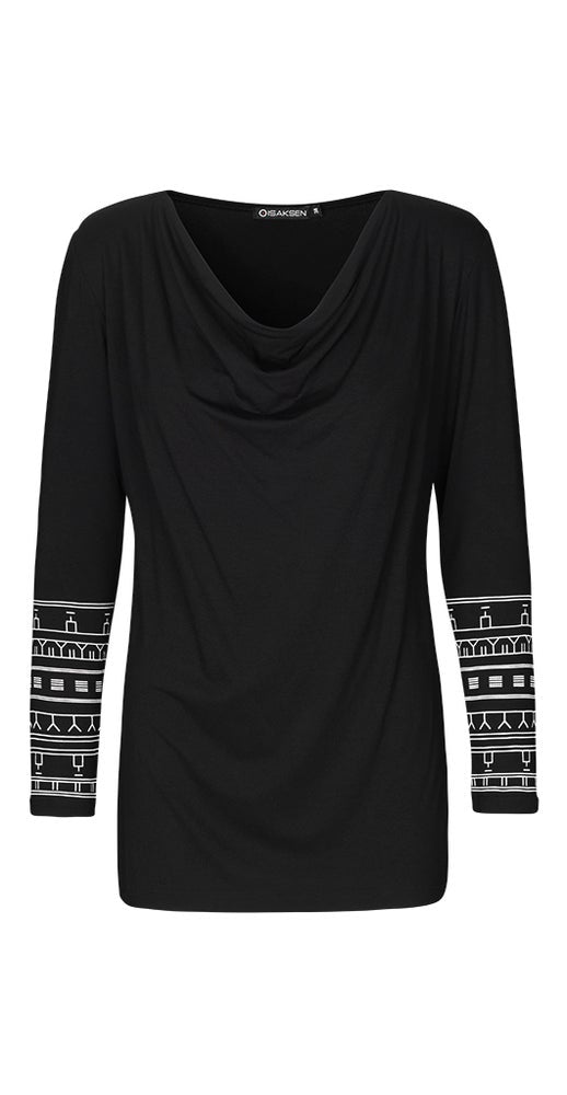 Ayo Top Black-Isaksen design