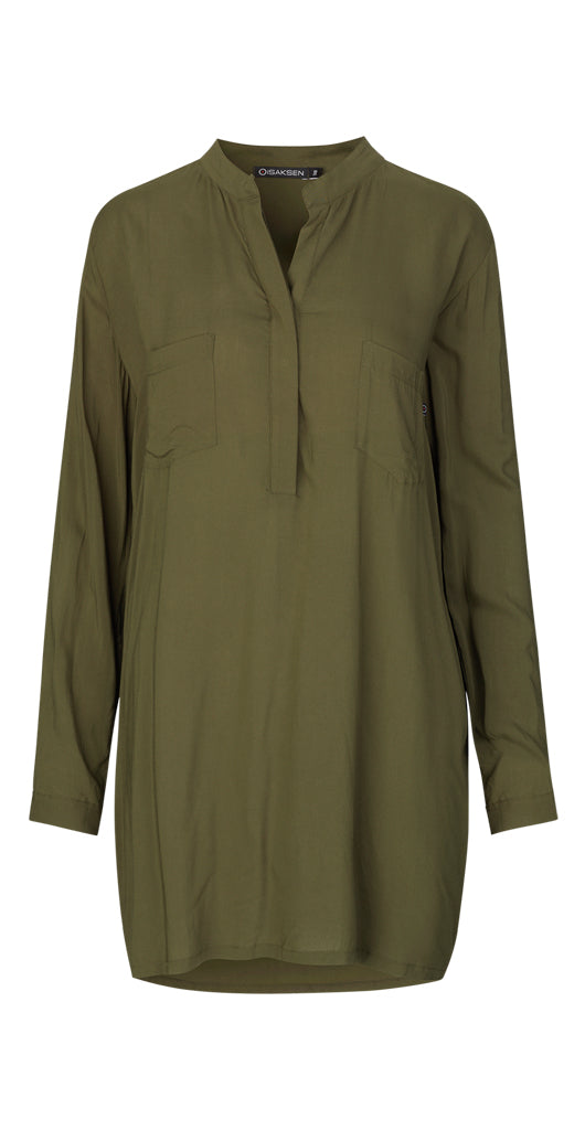 CS-02 Shirt Green - Isaksen design
