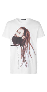Cillian T-Shirt White - Isaksen design
