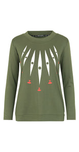 Herta Top Green - Isaksen design