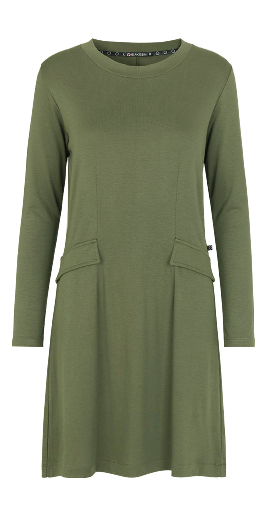 Hope Dress Green - Isaksen design