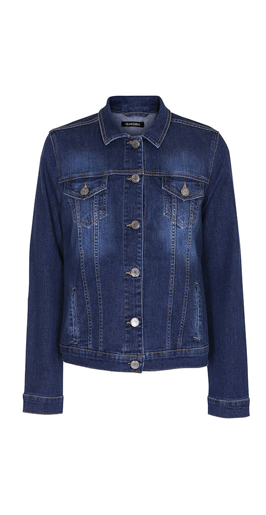 Id Denim Jacket Blue - Isaksen design
