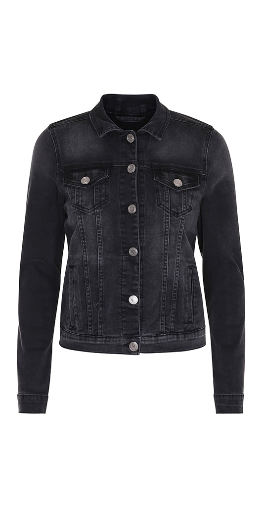 Id Denim Jacket Black - Isaksen design