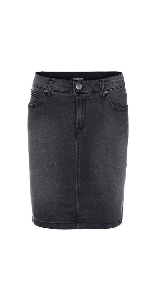 Id Skirt Black Wash - Isaksen design