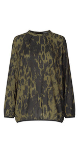 Maise Top Army Green