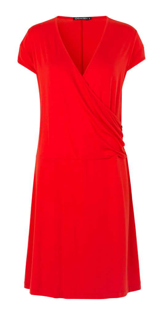 Marlo Dress Red - Isaksen design