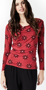 Meriam Top Red - Isaksen design