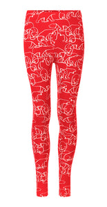 Nanoq Leggings Red