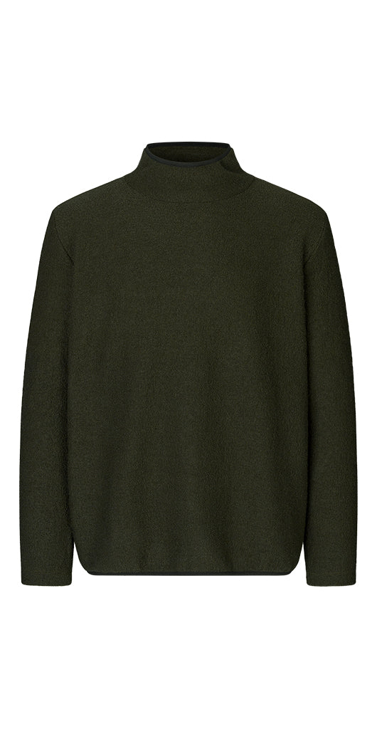 Pete Wool Sweater Army Green