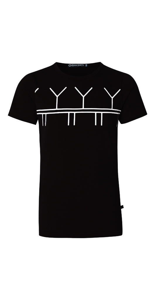 Rajh T-Shirt For Boys Black