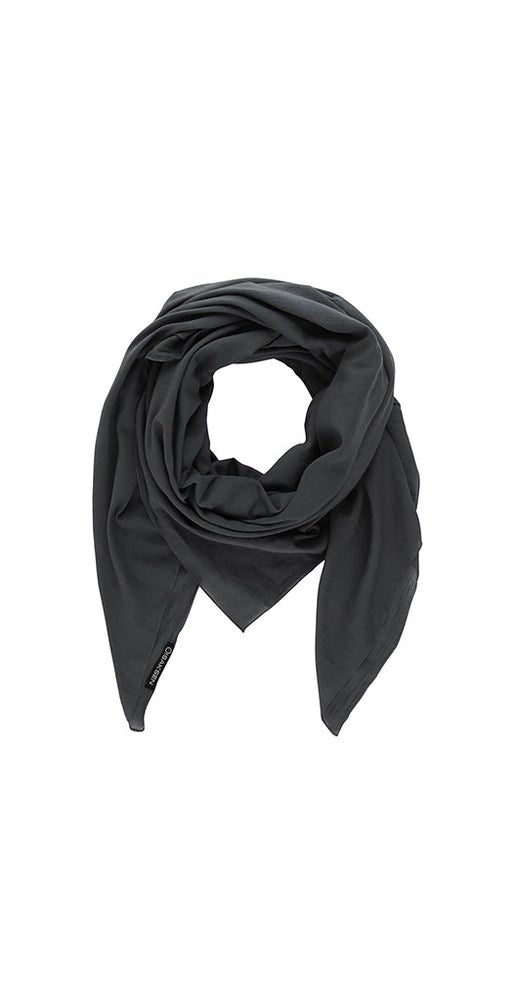 Id Basic Scarf Grey  140 x 140 cm - Isaksen design