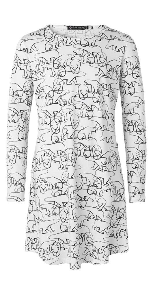 Stine Tunic For Girls White