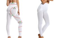 Load image into Gallery viewer, SENSI' Leggings Modellante Donna vita alta Senza Cuciture Made in Italy - SENSI'