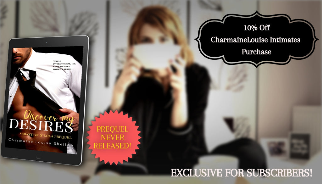 CharmaineLouise Newsletter Subscriber Exclusive Gifts Free Series Prequel 10% off CharmaineLouise Intimates Purchase
