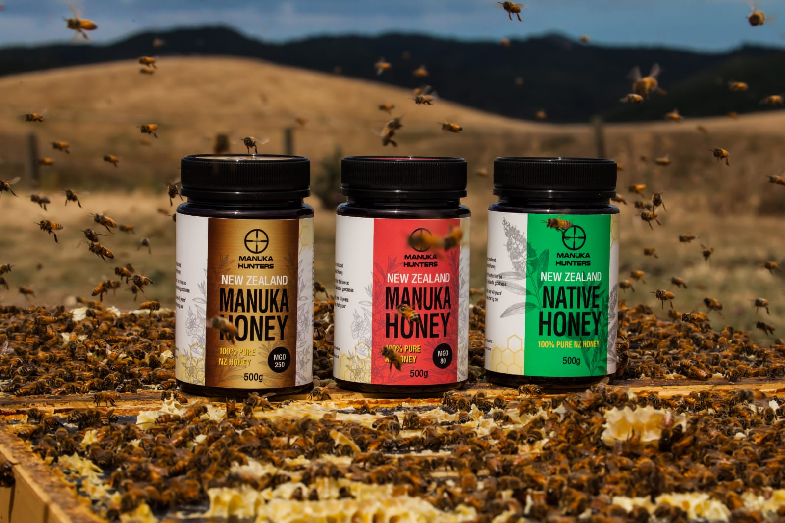 Manuka Hunters Honey