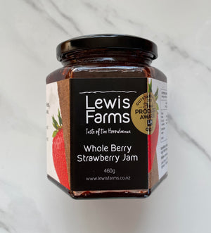Whole Berry Strawberry Jam 460g