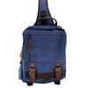 Image of Retro Messenger Bag Canvas Shoulder Backpack Travel Rucksack Sling Bag