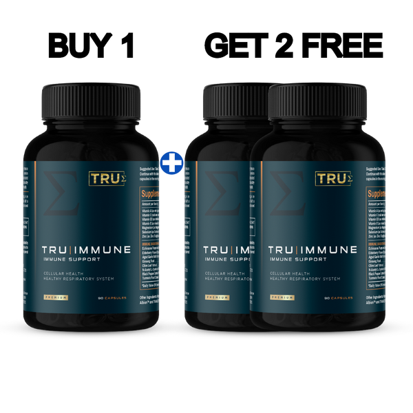 Buy Just 1 TruImmune & Get 2 More FREE