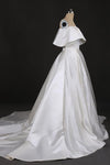 Stunning Off the Shoulder Strapless Ball Gown Long Wedding Dresses Wedding Gowns XHLPST15440