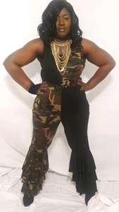 Twisted Army Fatigue Jumpsuit