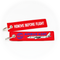 Keyring Airbus A320 (red) / Remove Before Flight