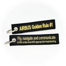 Keyring Airbus Golden Rule