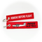 Keyring Piper Aztec PA-23 / Remove Before Flight