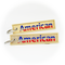Keyring American Airlines / Remove Before Flight (gold)
