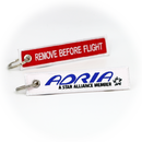 Keyring Adria Airways / Remove Before Flight