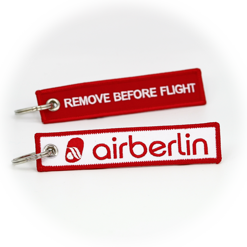 Keyring Air Berlin / Remove Before Flight