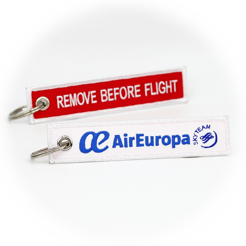 Keyring Air Europa / Remove Before Flight