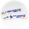 Keyring Air France / Remove Before Flight (Sea Horse Logo)