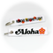 Keyring Aloha Airlines / Remove Before Flight
