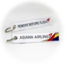 Keyring Asiana Airlines / Remove Before Flight